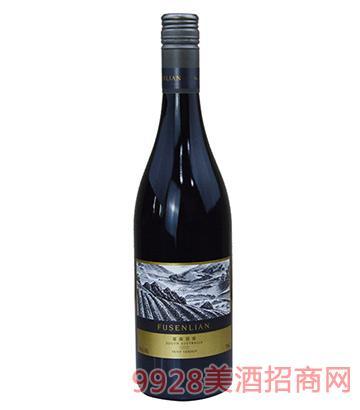 2015富森丽安小维多干红葡萄酒14度750ml