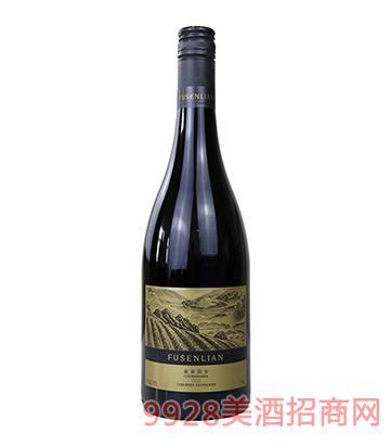 2016富森丽安库纳瓦拉赤霞干红葡萄酒15度750ml