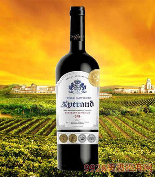 斯波朗波尔多干红葡萄酒