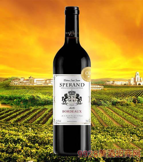 斯波朗精选干红葡萄酒