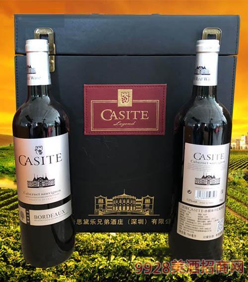 法国卡斯特·赤霞珠干红葡萄酒