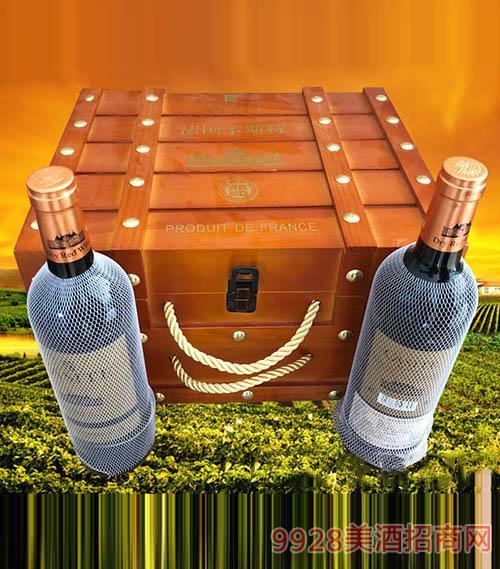 法国卡斯特·马尔贝克干红葡萄酒750ml