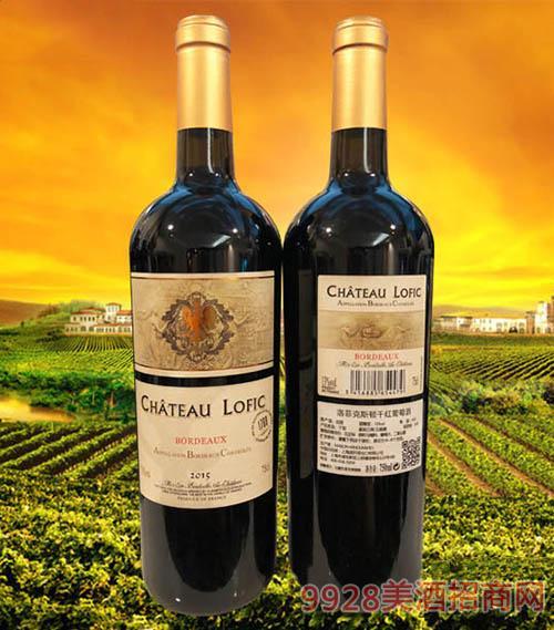 洛菲克斯顿干红葡萄酒75cl