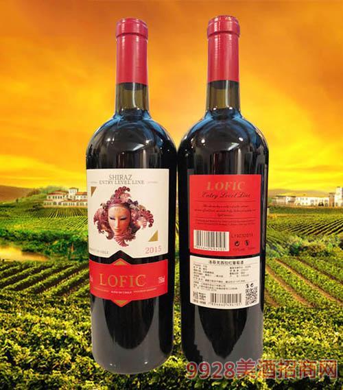 洛菲克西拉红葡萄酒