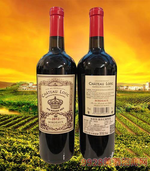 洛菲克·美乐红葡萄酒