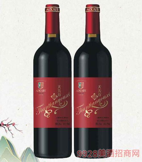 天天有喜干紅葡萄酒