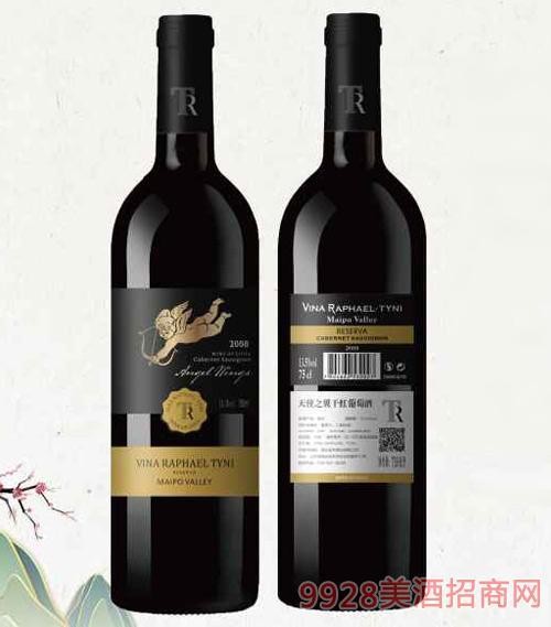 智利拉斐尔・蒂尼酒庄天使之翼干红葡萄酒