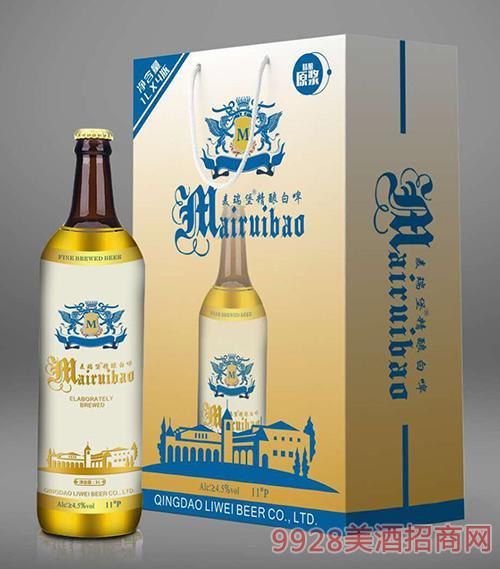 麦瑞堡精酿白啤礼盒装11°P1L