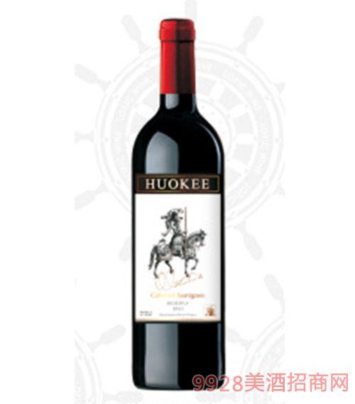 X16西班牙胡可尔赤霞珠红葡萄酒