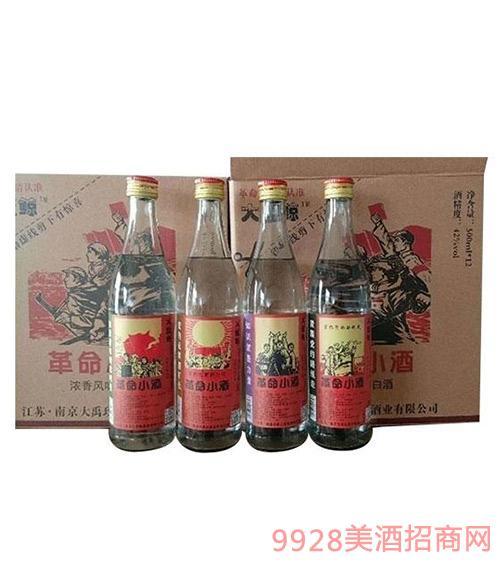 大蓝鲸革命小酒42度500mlx12