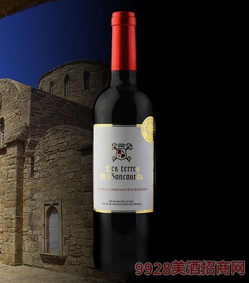 法国吉高干红葡萄酒