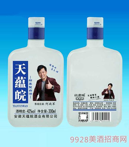 天蕴皖绵柔白酒300ml