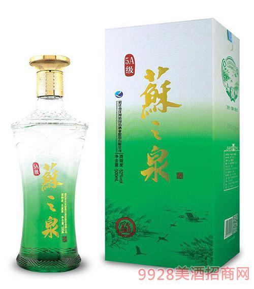5A级苏之泉酒52度500ml