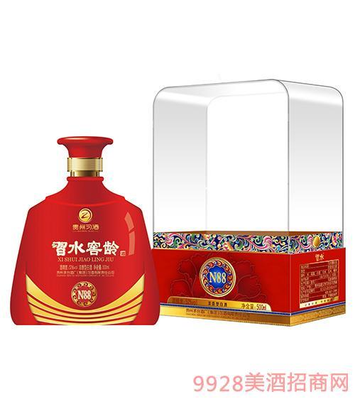 习水窖龄酒N88-52度500ml