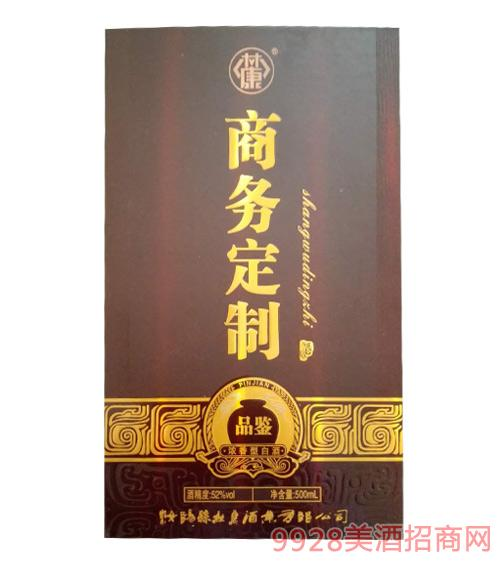 商务定制酒品鉴礼盒52度500ml