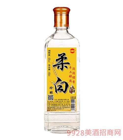 柔白酒珍�42度450ml