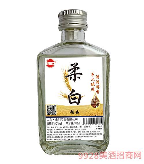 柔白酒精品42度100ml