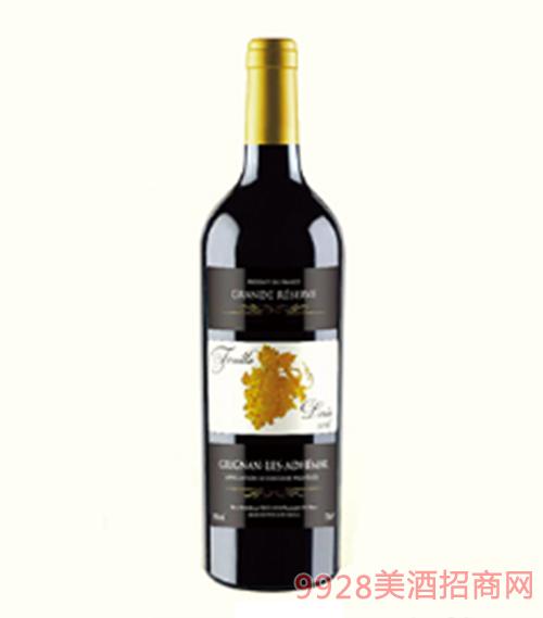 金�~子格里昂�t葡萄酒