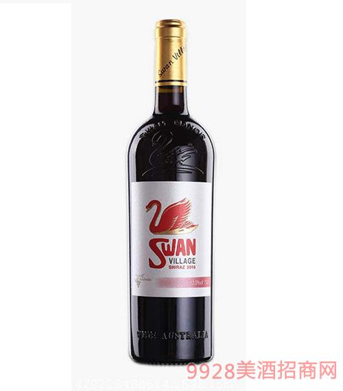 西澳天鹅干红葡萄酒(白)12.5度750ml