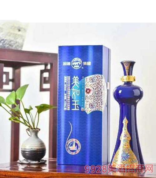 汾酒集团美如玉酒(蓝)