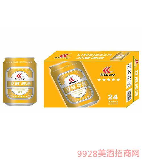 立威啤酒12°P330mlx24