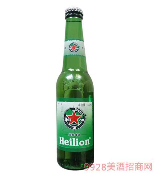 黑狮原酿啤酒瓶装