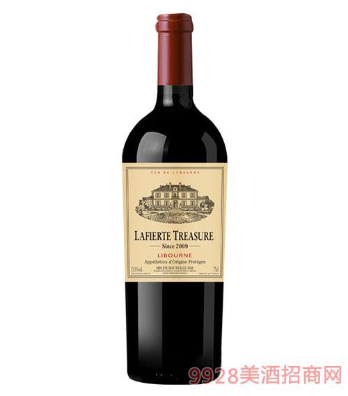 索泰尔纳拉斐珍宝2009干红葡萄酒750ml