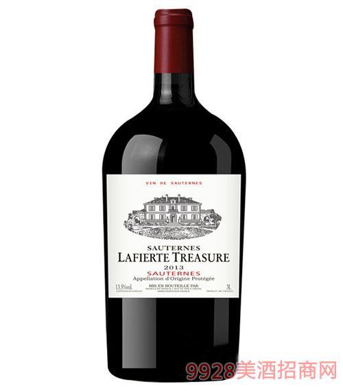 索泰尔纳拉斐珍宝2013干红葡萄酒3L