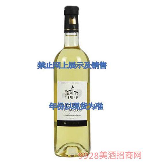 宝石庄图乐精选甜白葡萄酒