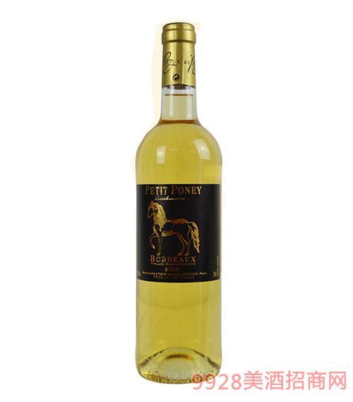 小马堡波尔多白葡萄酒11.5度750ml