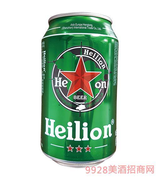黑狮原酿啤酒罐装