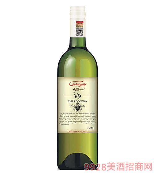 克里斯奔富酒王V9干白葡萄酒13度750ml