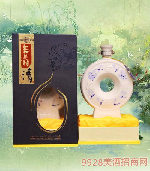 汾酒集团杏花村酒52度475ml清香型白酒