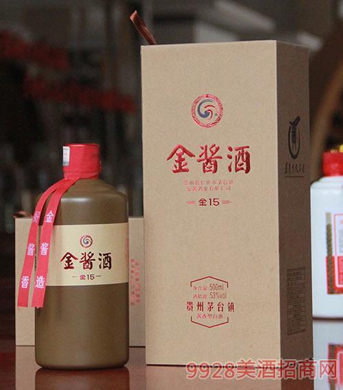 金酱酒金15-53度500ml