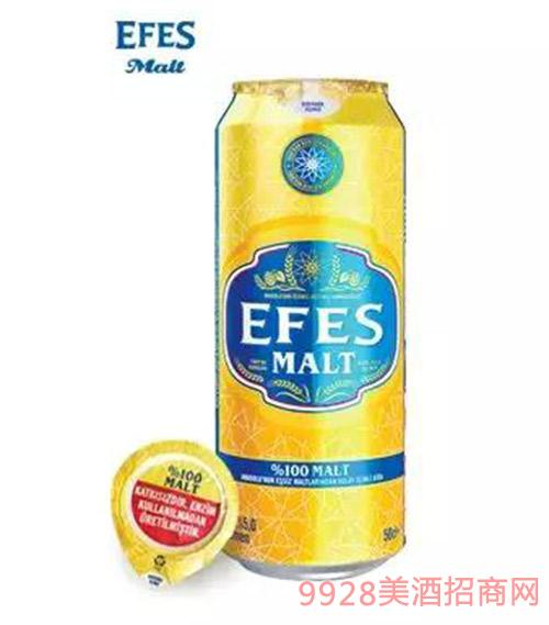艾菲啤酒罐装500ml