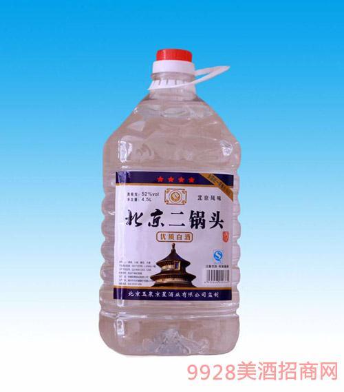 北京二鍋頭桶裝52度4.5L