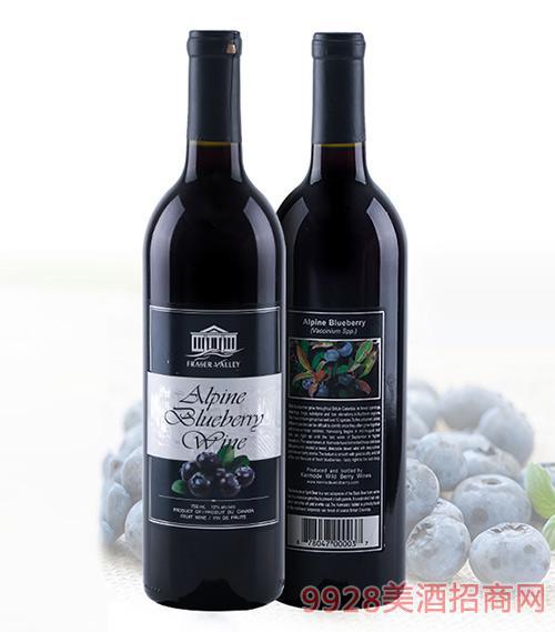 加拿大高山蓝莓酒