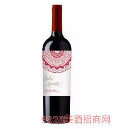 智利幸运轮干红葡萄酒-赤霞珠13度750ml