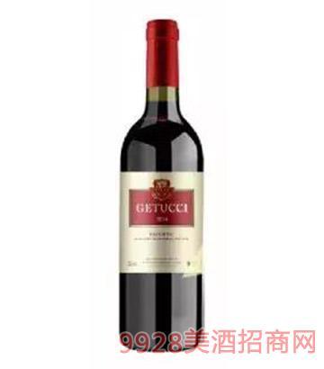 法国歌图斯红葡萄酒12.5度750ml