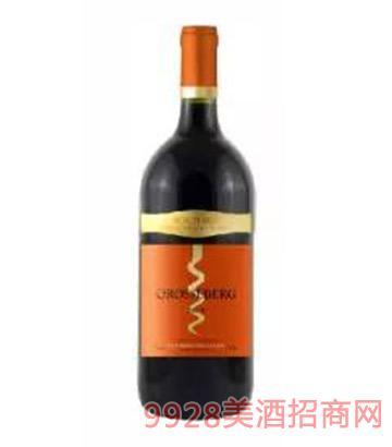 法国格斯堡干红葡萄酒12.5度750ml