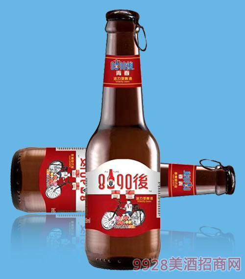 8090后青春活力型啤酒218ml