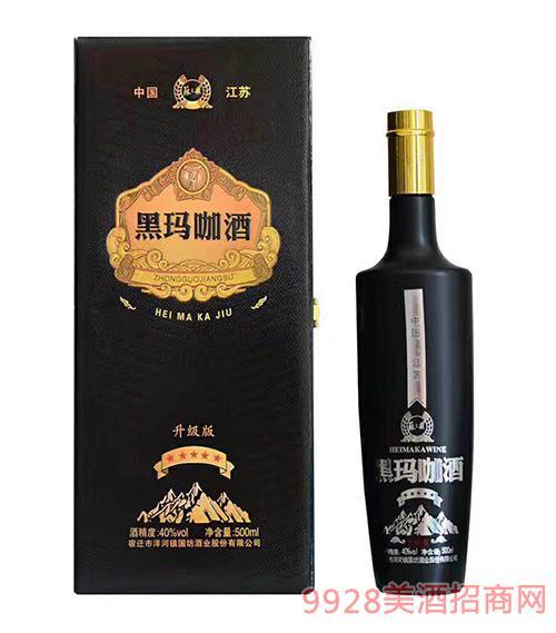 �K之泉黑��咖酒升�版40度500ml