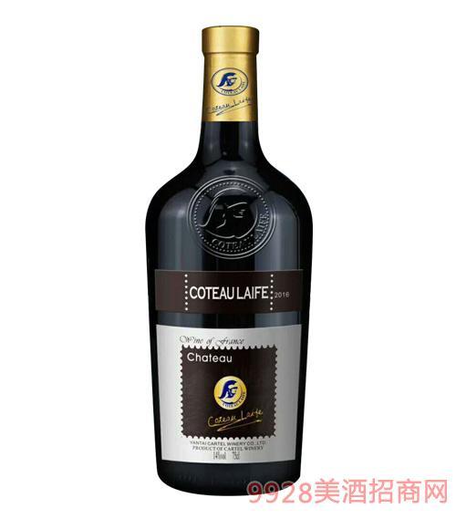 依菲干�t葡萄酒2016(大肚瓶)14度750ml