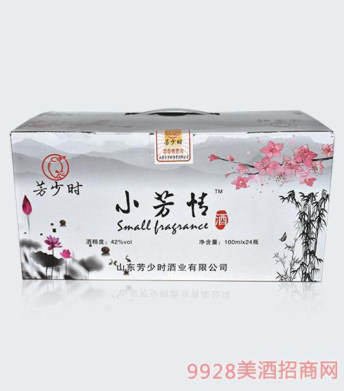 小芳情酒清香型42度100mlx24