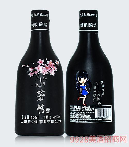 小芳情酒清香型42度100ml