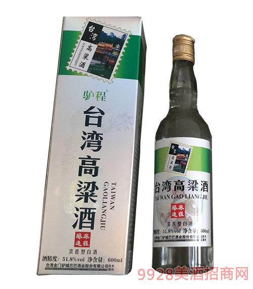 驴程台湾高粱酒51.8度600ml