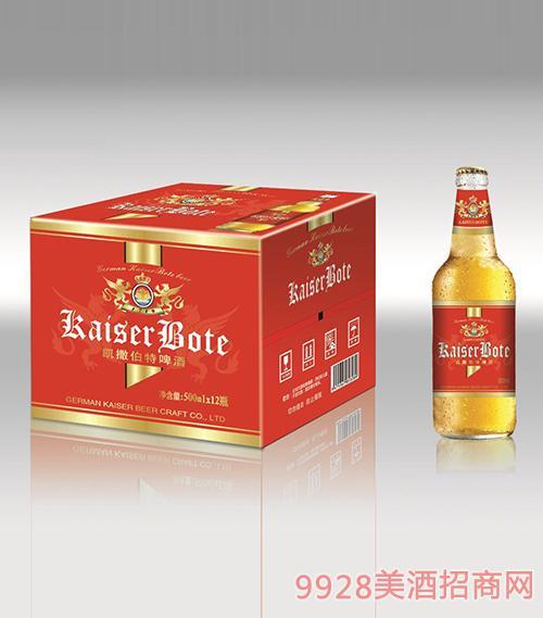 500毫升凯撒伯特啤酒1x12瓶