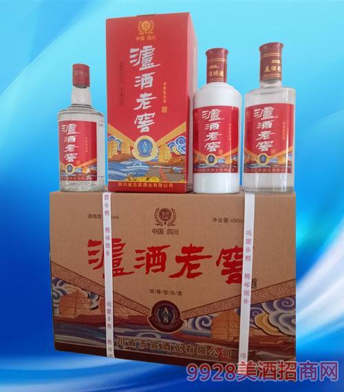 泸酒老窖酒A8-42度480ml