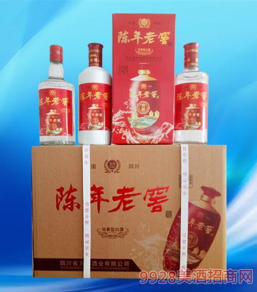 陈年老窖酒42度480mlx6