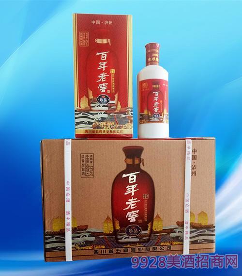 百年老窖珍品酒42度480ml